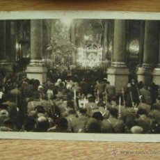 Postales: SOLDADOS ANTE LA VIRGEN DEL PILAR - FOTO ANGEL CORTES. Lote 40846405