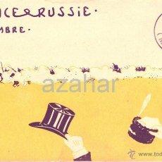Postales: POSTAL CONMEMORATIVA ACUERDO FRANCO RUSO, REIMS, FRANCIA,1901, PRECIOSA. Lote 41078942