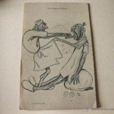 Postales: POSTAL RECORDATORIO DE LA GUERRA DE AFRICA - TIPOS MOROS - HAUSER Y MNET. Lote 41092995
