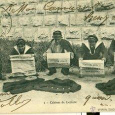Postales: VIDA MILITAR. LAS LETRINAS. AÑO 1906. LOTE DE DOS POSTALES FRANCESAS CIRCULADAS.. Lote 41640848