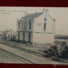Postales: ANTIGUA POSTAL CAMPAÑA DEL RIF-1921. ESTACION DE ZELUAN. HAUSER Y MENET. SIN CIRCULAR. Lote 42516196