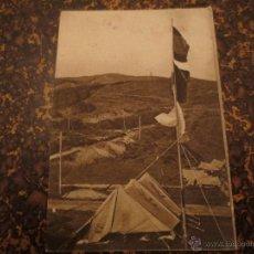 Postales: CAMPAMENTO. FRENTE DE JUVENTUDES.. Lote 194714665