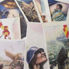 Postales: LOTE DE POSTALES DE LA GUERRA CIVIL - ARTES GRAFICAS LABORDE Y LABAYEN - TOLOSA. Lote 43061796