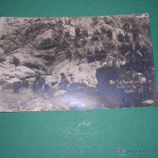 Postales: GUERRA DE AFRICA - BEN TIEB. AGUADA PROTEGIDA POR FUERZAS DEL REG.59 MELILLA POSTAL FOTOGRAFICA . Lote 43858659