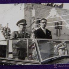 Postales: FOTO DEL 11 DE MAYO DE 1960 DE LA VISITA DEL GENERAL FRANCO A CIUDADELA, MENORCA (BALEARES). Lote 43931406
