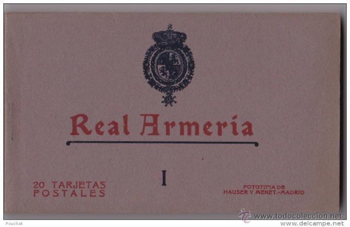AÑOS 20 - ALBUM 20 DE POSTALES NUMERO I HAUSER Y MENET - MADRID - REAL ARMERIA - IMPECABLE (Postales - Postales Temáticas - Militares)