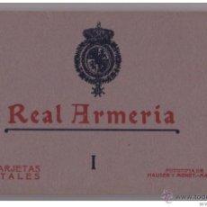 Postales: AÑOS 20 - ALBUM 20 DE POSTALES NUMERO I HAUSER Y MENET - MADRID - REAL ARMERIA - IMPECABLE. Lote 44111960
