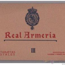 Postales: AÑOS 20 - ALBUM 20 DE POSTALES NUMERO III HAUSER Y MENET - MADRID - REAL ARMERIA - IMPECABLE. Lote 44111976