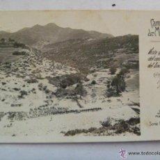 Postales: POSTAL DE LA CAMPAÑA DE MELILLA : VISTA GENERAL DEL CAMPAMENTO DEL ZOCO EL-JEMIS... Lote 44114455