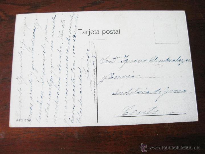 Postales: POSTAL MILITAR DE ARTILLERIA DIBUJADA POR PUMAROLA ALAIX - 1910 - Foto 2 - 45092827