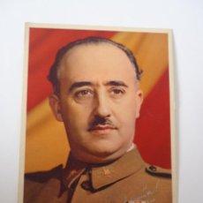 Postales: POSTAL DE FRANCO CON FIRMA (EVIDENTEMENTE SERIGRAFIADA).. Lote 45386746