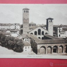 Postales: MILANO. S. AMBROGIO.. Lote 45640407