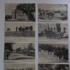 Postales: 12 POSTALES: LES GRANDES MANOEUVRES D'ARMEES DE 1902. Lote 47313498