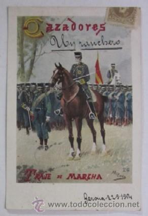 Postales: DOS ANTIGUAS POSTALES CAZADORES DE CABALLERIA - EDITORIAL CALLEJA PRINCIPIOS DE XX - Foto 3 - 47334664