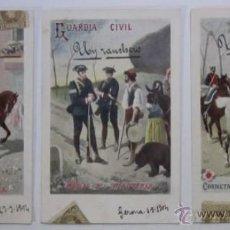 Postales: TRES ANTIGUAS POSTALES GUARDIA CIVIL - EDITORIAL CALLEJA PRINCIPIOS DE XX. Lote 47334871
