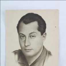 Postales: ANTIGUA POSTAL ILUSTRADA CON RETRATO DE JOSÉ ANTONIO PRIMO DE RIBERA - MEDIDAS 14 X 9 CM. Lote 47672601