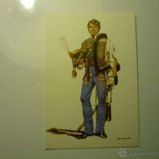 Postales: POSTAL MILITAR ESPAÑA 1815-AYUDANTE CAMPO DE CAPITAN GENERAL-DIBUJO SALAS. Lote 47741903