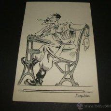 Postales: ACADEMIA GENERAL MILITAR ZARAGOZA POSTAL ILUSTRADA F. VEGUILLAS 1945 CADETE. Lote 47758188