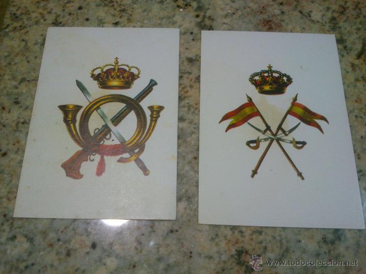 POSTALES.ARMA DE INFANTERIA,CABALLERIA. DE DELFIN SALAS (Postales - Postales Temáticas - Militares)