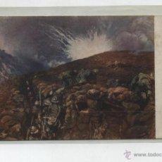 Postales: POSTAL. GUERRA VISTA REPRESENTATA. FRANQUEADA EN ITALIA EN 1920. ¡VER DORSO!. Lote 48449785