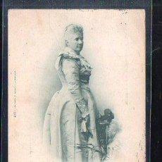 Postales: TARJETA POSTAL DE S.A. LA INFANTA DOÑA Mª ISABEL FRANCISCA. 419. HAUSER Y MENET. 1900. VER DORSO. Lote 48640417