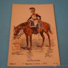 Postales: POSTAL DE:SOLDADO DE CABALLERIA,SIN CIRCULAR,EXTRANJERA. Lote 48705241