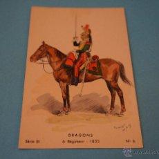 Postales: POSTAL DE:SOLDADO DE CABALLERIA,SIN CIRCULAR,EXTRANJERA. Lote 48705242