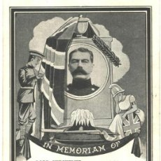 Postales: LORD KITCHENER, IN MEMORIAM OF. Lote 48711032