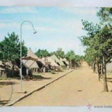 Postales: POSTAL - Nº 7. CAMPAMENTO LOS CASTILLEJOS, TARRAGONA. UNA CALLE TRANSVERSAL - CIRCULADA, AÑO 1967. Lote 48774816