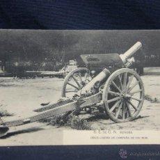 Postales: POSTAL S. E. DE C. N. REINOSA OBUS LIGERO DE CAMPAÑA DE 105 M/M ED HAUSER Y MENET. Lote 49080565