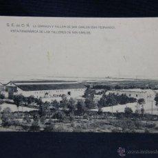 Postales: S. E. DE C. N. LA CARRACA TALLER DE SAN CARLOS NO CIRCULADA HAUSER Y MENET. Lote 49106018