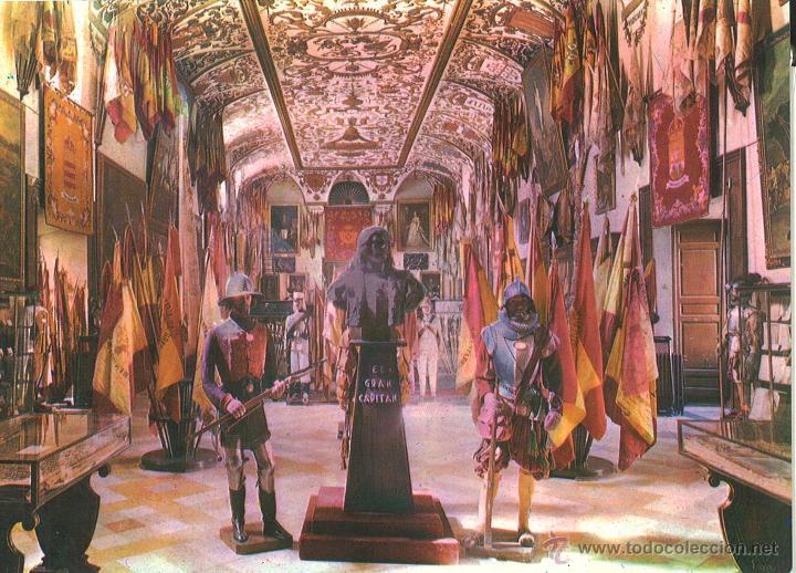MUSEO DEL EJERCITO. SALA DE REINOS. (Postales - Postales Temáticas - Militares)