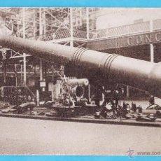 Postales: ANTIGUA POSTAL - LANZADERA OF 18IN NAVAL GUN - IMPERIAL WAR MUSEUM / MUSEO GUERRA - LONDRES - NUEVA. Lote 50096972