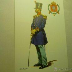 Postales: POSTAL MILITAR OF.GRANADEROS REGTO.LUCHANA 28--1833 -DIBUJO SALAS. Lote 50526189