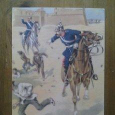Postales: GUARDIA URBANA DE BARCELONA / ACUARELAS DE CARLOS URBEZ / SERIE 2ª Nº 11. Lote 50566805