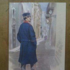 Postales: GUARDIA URBANA DE BARCELONA / ACUARELAS DE CARLOS URBEZ / SERIE 2ª Nº 16. Lote 50566859