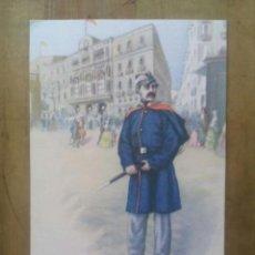 Postales: GUARDIA URBANA DE BARCELONA / ACUARELAS DE CARLOS URBEZ / SERIE 2ª Nº 18. Lote 50566874