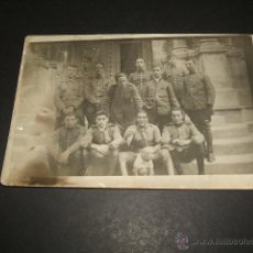 Postales: MILITARES ESPAÑOLES EPOCA ALFONSO XIII 2 POSTALES FOTOGRAFICAS. Lote 51203593