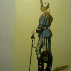 Postales: POSTAL SUBOFICIAL CAZADORES MARIA CRISTINA 1918-GALA DIBUJO SALAS. Lote 51379436
