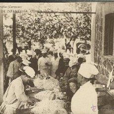 """Postales: ACADEMIA DE INFANTERÍA, CURSO 1913-14. GABINETE CARMONA. EJÉRCITO, MILITAR. """"LAS MIGAS"""". Lote 51561227"""