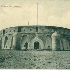 Postales: MARRUECOS. MELILLA. FUERTE DE CAMELLOS. HACIA 1905.. Lote 51731261