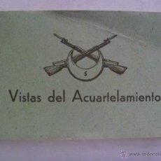 Cartoline: LIBRITO CON 23 MINIPOSTALES RECUERDO ACUARTELAMIENTO REGULARES ALHUCEMAS Nº 5 , AÑOS 40. Lote 52541668