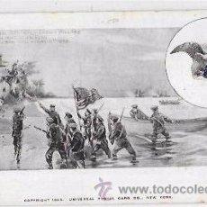 Postales: TARJETA POSTAL SPANISH AMERICAN WAR. CAPTURA DE UNA ESTACIÓN DE SEÑAL. 1898.. Lote 53953125