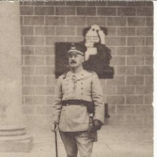 Postales: ACADEMIA INFANTERIA.CURSO 1913-14.GENERAL DIRECTOR. GABINETE FOTOGRAFICO CARMONA. Lote 54482926