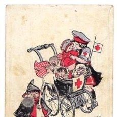 Postales: TARJETA POSTAL CRUZ ROJA. ALEMANIA. CIRCA 1915. Lote 54540838