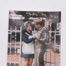 Postales: PRECIOSA POSTAL DE LOS AÑOS 70 CON DETALLES ENGALARDONADOS EN PURPURINA , MODELOS COLECCIONABLES. Lote 54672945