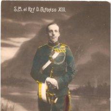 Postales: S. M.EL REY DON ALFONSO XIII 1913. Lote 54842893