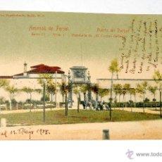 Postales: ARSENAL DE FERROL. PUERTA DEL PARQUE. Lote 55024417