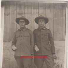 Postales: ANTIGUA POSTAL SOLDADOS EN MELILLA. ORIGINAL AÑO 1928. Lote 55117758