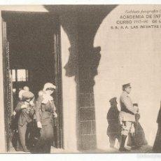Postales: ACADEMIA DE INFANTERÍA CURSO 1913 - 14. DE LA VISITA DE S.S. A. A. LAS INFANTAS ISABEL Y PILAR.. Lote 55370592
